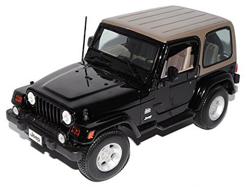 jeep-wrangler-sahara-schwarz-hard-top-1-18-maisto-modellauto-modell-auto