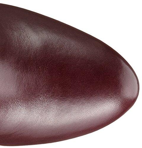 Clarks Kendra Glove, Bottes hautes Classiques Femme Violet (Aubergine)