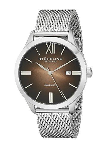 516aWX 0uWL - Stuhrling Original Brown Mens 490M.03 watch