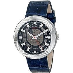 CCCP Herren cp-7025-01podmoskowje Monino Analog Display Japanische Automatische blau Armbanduhr