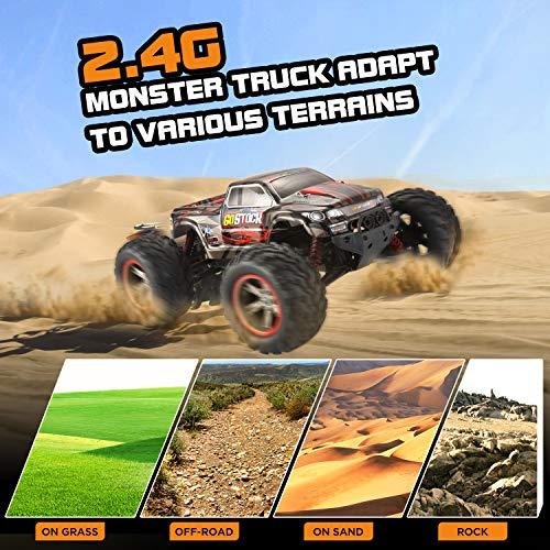 RC Auto kaufen Monstertruck Bild 2: GoStock Ferngesteuertes Auto, 1:12 Maßstab RC Autos 42 km/h High-Speed 2.4GHz RC Geländewagen Monstertruck Ferngesteuert Buggy Geschenk für Kinder und Erwachsene*