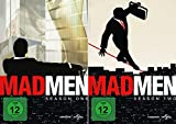Mad Men Staffel 1+2 (8 DVDs)