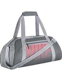 Nike Women'S Gym Club Bolsa de Deporte, Mujer, Gris (Cool Grey / Wolf Grey / Lava Glow), Talla Única