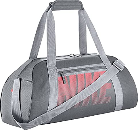 Nike Women's Gym Club Sportbag, Grey/Cool Grey/Wolf Grey/Lava Glow, One Size