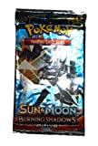 Nprc Vip Pokemon Sun&Moon Burning Shadows Booster 7 Cards For Kids (Random Pack)