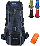 Onyorhan 70L+5L Backpack Travel Trekking Hiking Camping Climbing Mountaineering