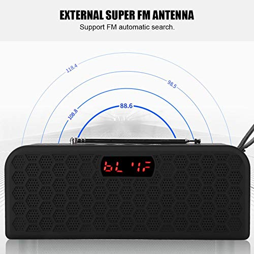 Radio con altavoz Bluetooth