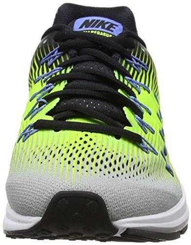 Nike Air Zoom Pegasus 33, Scarpe da Corsa Uomo Multicolore (Silber Matt/weiß/volt/schwarz)