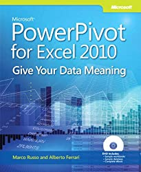 Microsoft PowerPivot  for Excel 2010, w. DVD-ROM (Business Skills)