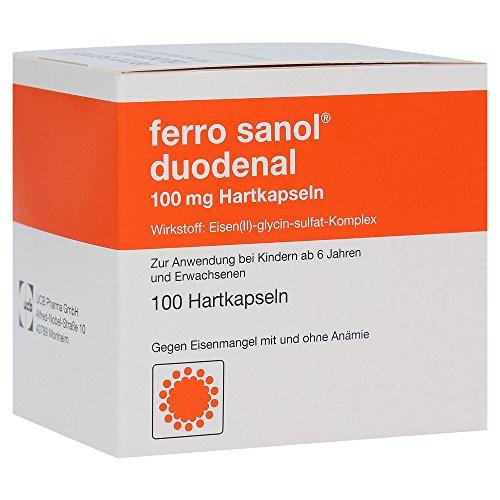 Ferro sanol duodenal 100 mg Kapseln, 100 St.