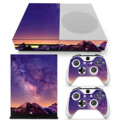 Price comparison product image FLY-happiness Star Vinyl Skin Sticker Protector for Microsoft Xbox One SLIM and 2 controller skins Stickers for XBOXONE S, 1