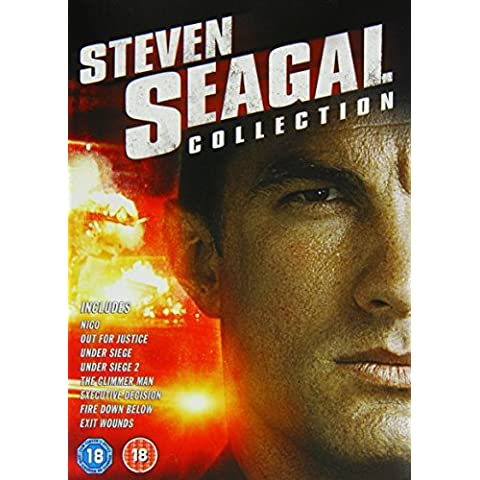 The Steven Seagal Collection: Executive Decision / Exit Wounds / Fire Down Below / Nico / Out for Justice / The Glimmer Man / Under Siege / Under Siege 2 [DVD] [2002] by Steven