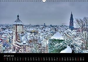 Freiburger Impressionen (Wandkalender 2017 DIN A3 quer): Freiburg im Breisgau (Monatskalender, 14 Seiten ) (CALVENDO Orte)
