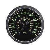 CafePress - Speedometer Clock - Unique Decorative 10' Wall Clock