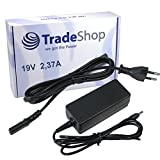 Trade-Shop Netzteil Ladegerät Ladekabel Adapter 19V/2,37A 3mm x 1,1mm für Asus Zenbook UX21 UX30 UX31 UX32 und Samsung NP900X3A NP900X3B NP900X3C NP530U4B NP530U4C NP535U3C NP305U1A NP350 NP350U2A NP540U3C NP550P5C 550P7C ATIV Book 9 Lite Plus