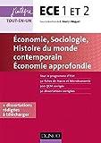 ece 1 et 2 economie sociologie histoire du monde contemporain economie approfondie