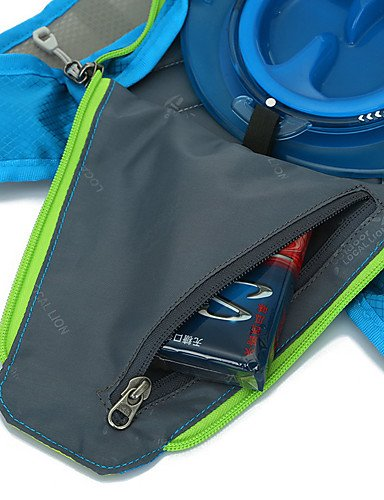 ZQ 15 L Rucksack Camping & Wandern Draußen Kompakt Rot / Schwarz / Blau Terylen / 210D - Nylon Red