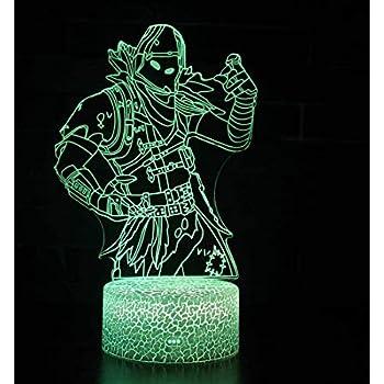 Fortnite 3d Illusion Nuit Lumiere Win Y Led Bureau Table Lampe 7