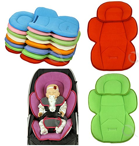 OLO BABY Infant Snuzzler Head Hugger & Full Body Support Liner for Car Seat Buggy Pushchair 516ak60WdmL