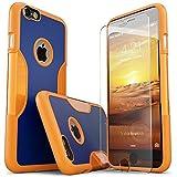 Best Sahara Case Iphone 6 Plus Tempered Glasses - iPhone 6 Plus Case, Orange *Bonus Glass* Rugged Review