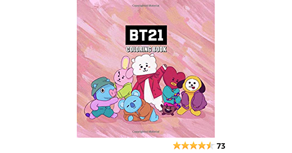 Bt21 Coloring Book Bt21 Coloring Pages For Everyone Adults Teenagers Tweens Older Kids Boys Girls Practice For Stress Relief Relaxation Amazon De G Kim Emily Fremdsprachige Bucher