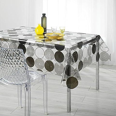 Cristallo trasparente-Tovaglia rettangolare, 140 x 240 cm, (La Maison Cristallo)