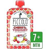 Piccolo Cereza Orgánica Y Yogur Con 100 G De Avena Integral - Paquete de 6