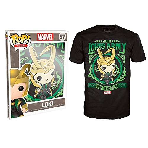 Marvel Comics POP! Tees Camiseta Lokis Army talla L