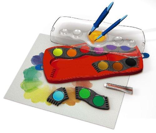 Faber-Castell 125030 - Farbkasten CONNECTOR mit 12 Farben, inklusive Deckweiß - 6