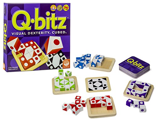Green Board Games Q-bitz, Konzentrationsspiel für Kinder