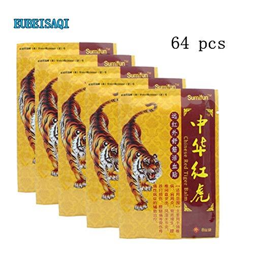 64PCS Parche aliviar dolor medical plaster parch alivia