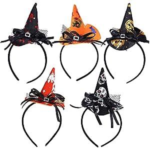 MEZHEN Diadema Halloween Sombrero de