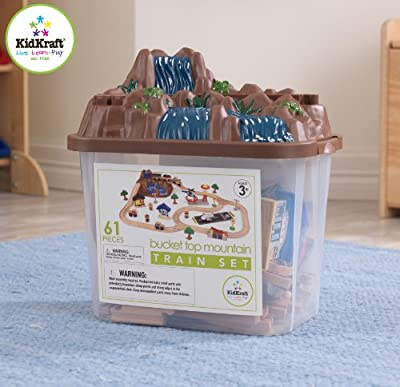 KidKraft - Ensemble Train en bois Bucket Mountain