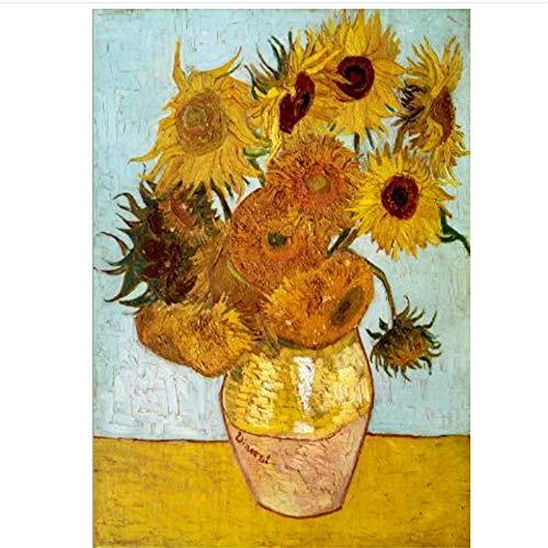 Tournesols Peintures Reproduction Sur Le Mur Impressionniste...