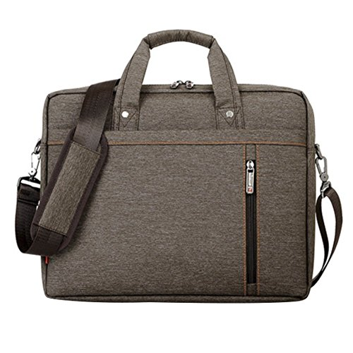 Teile, Computer-netzteil (LOSORN ZPY 13-17 Zoll Laptop Tasche mit Schultergurt Aktentasche für Laptop/Notebook Computer/MacBook, Braun, 17 Zoll)