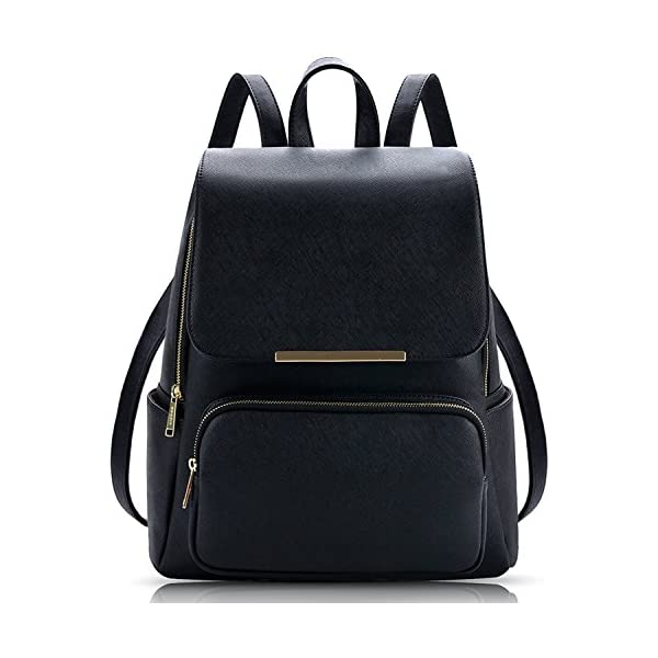 569f2b9cc Alice 7 Liters Black Casual Backpack Stylish Girls School Bag College ...