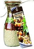"""Weckflasch """"Risotto"""" Kochmischung in Glas Backmischung Fertigmischung Reis Geschenk ausgefallen Zitrone Steinpilz Reismischung Risottomischung (Karotten Steinpilz Risotto)"""
