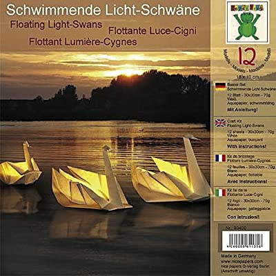 """Bastel-Set """"Schwimmende Lichtschwäne"""" von Efco auf Lampenhans.de"""