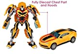 #7: Happy Giftmart Bumblebee Robot To Car Converting Transformer Toy Car - Multi Color