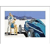 Mike Maurice - Bonneville Salt Flats - Stampe d'arte, (80 x 60 cm), 80 x 60 cm