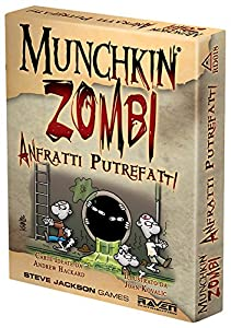 Raven Cuervo - Munchkin Zombies, Anfratti putrefactos