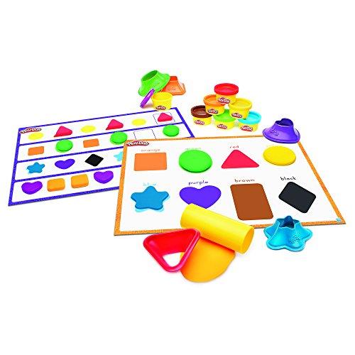 Play-Doh Forme et Apprendre Les Couleurs et Formes