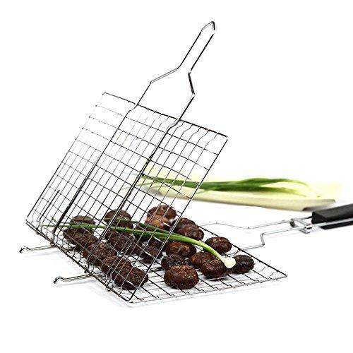 BBQ Braten Werkzeug Edelstahl draussen Grillnetz Haushalt Grill