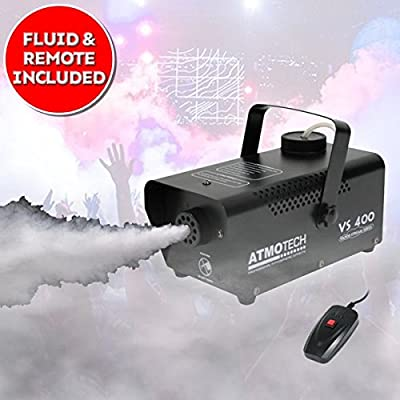 Halloween 400W Party Disco Smoke Fog Haze Fogger Effect Machine with Fluid Included