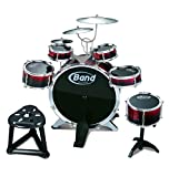 Children Musical Big Band Rock N\' Rhythm Drum Studio Kit Music Toy Play Set