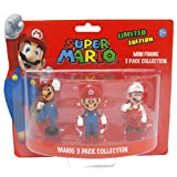 Super Mario 6cm Mario Minifiguren 3er Set [import allemand]