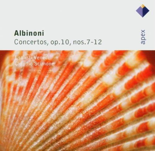 Albinoni : Concertos Op.10 Nos 1 - 6 - Apex