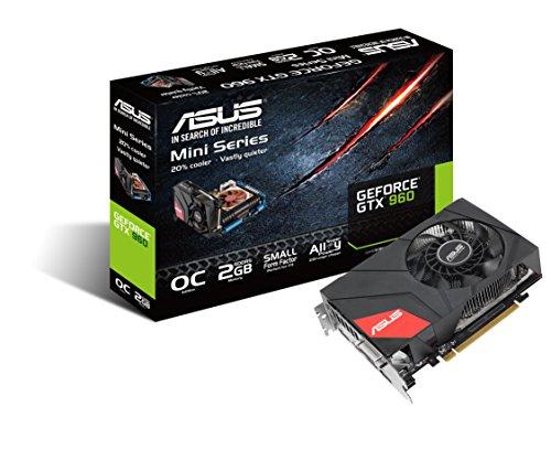 Asus GTX960-MOC-2GD5 Nvidia GeForce Gaming Grafikkarte (PCIe 3.0 x16, 2GB DDR5 Speicher, HDMI, DVI, 3x DisplayPort) 3 Moc