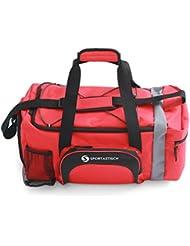 """ÉLU MEILLEUR PRODUIT : Premium sac de sport """"Sporty Bag"""" de Sportastisch :: avec compartiment pour les chaussures : 35L :: 3 ans de garantie"""