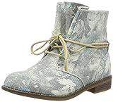 Indigo Mädchen 462 136 Combat Boots, Mehrfarbig (LT Grey), 36 EU
